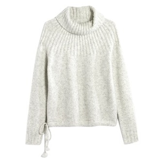 Snowbound Drawstring Pullover Sweater