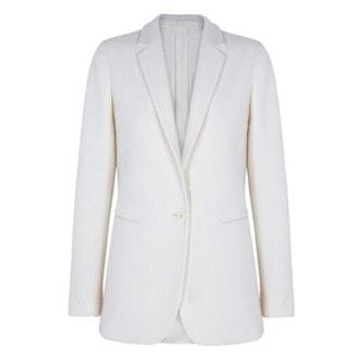 Limited Edition Ecru Wool Blazer