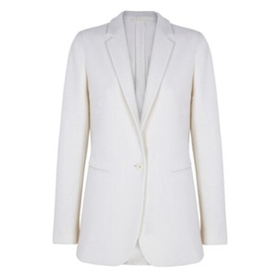 Limited Edition Ecru Wool Blazer