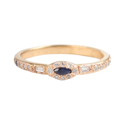 Anastasia Marquise Sapphire Ring