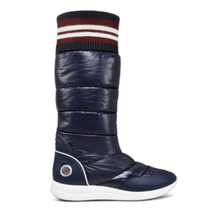 Quilted Nylon Boots