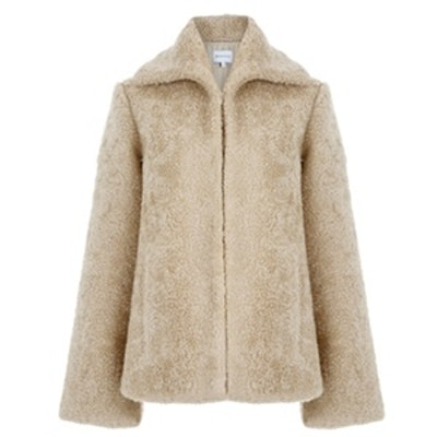 Mock Shearling Coat