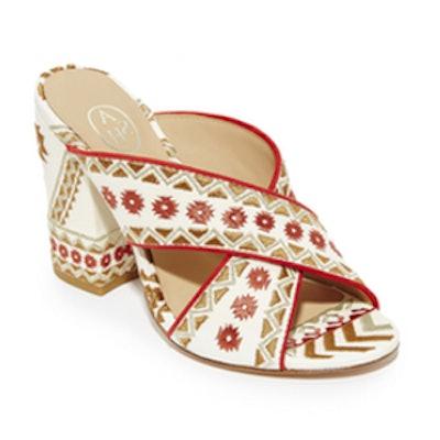 Adel Mule Sandals