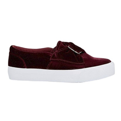 Digger Velvet D-Ring Sneakers