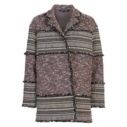 Pixel Mix Cotton Coat
