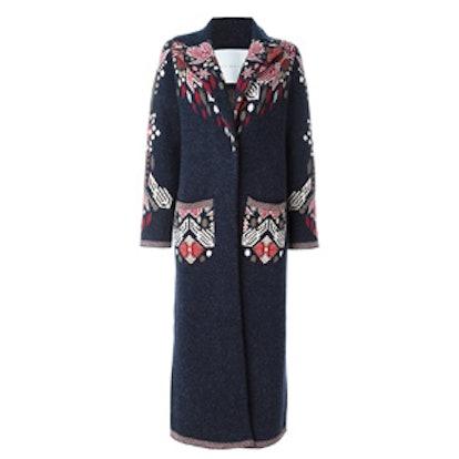 Floral Long Coat