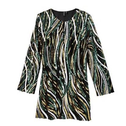 Jen Sequin Tunic Dress