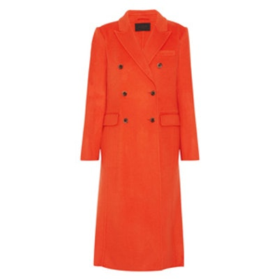 Collection Double-Breasted Wool-Blend Coat