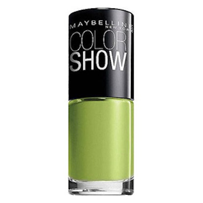 Color Show Nail Lacquer in Go Go Green