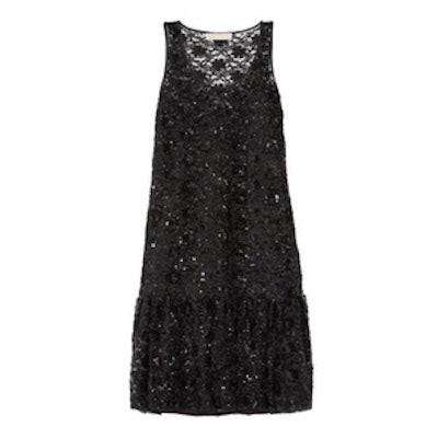 Sequin Embellished Tulle Dress