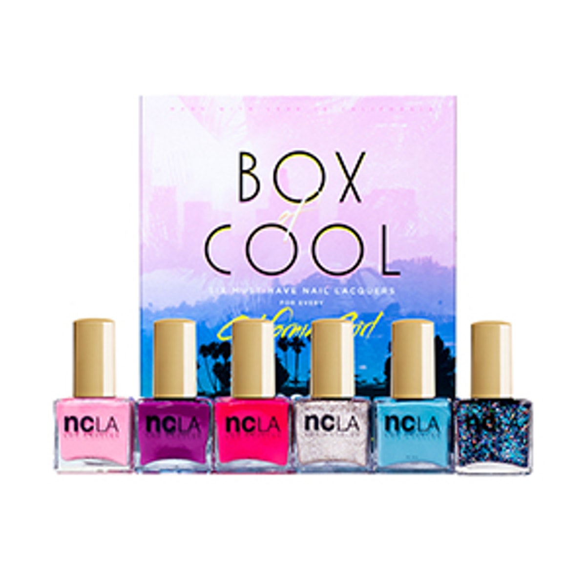 Box of Cool Nail Lacquers