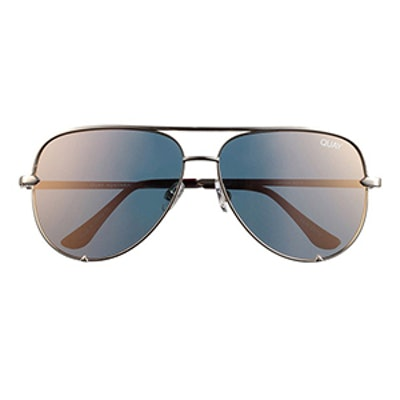 Desi Perkins High Key Aviator Sunglasses