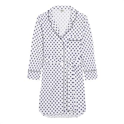 Marina Fil Coupé-Cotton Nightdress