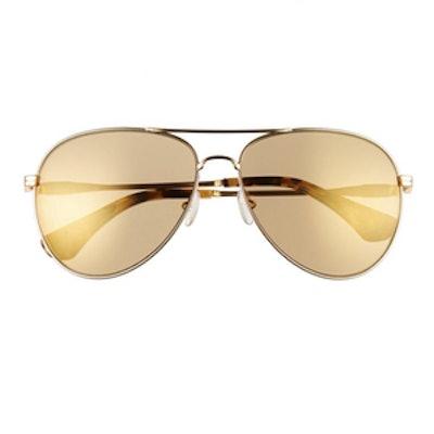 Lodi Mirrored Aviator Sunglasses