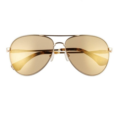 Lodi Mirrored Aviator Sunglasses