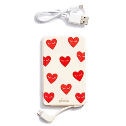 Fancy Heart Portable iPhone Charger