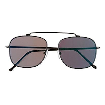 Beta Matrix Aviator Sunglasses