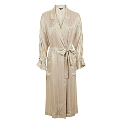 80s Satin Duster Coat