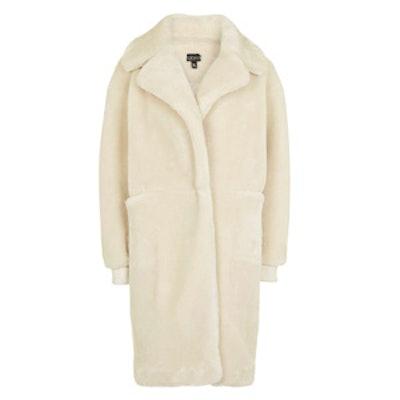 Polar Bear Cocoon Coat