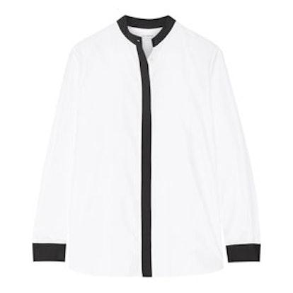Clean Line Cotton-Poplin Shirt