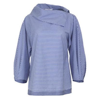 Men's Stripe Sculpted Sleeve Top