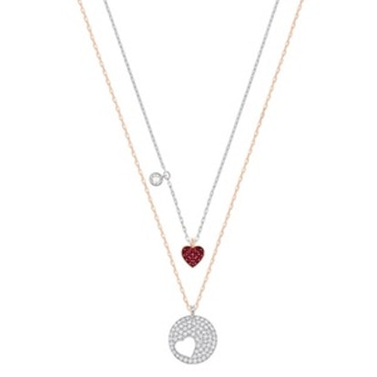 Crystal Wishes Heart Pendant Set