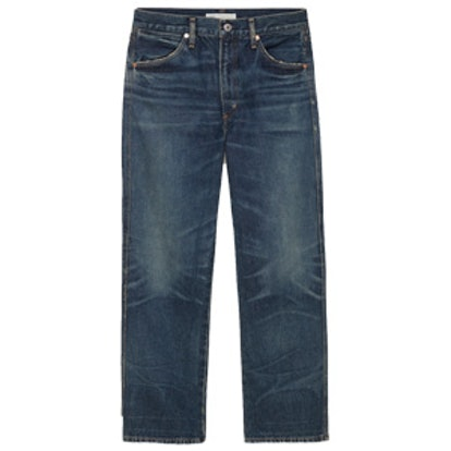Liv Vintage Blue Straight Leg Jeans