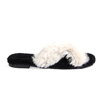 Fox-Fur Crossover Sliders