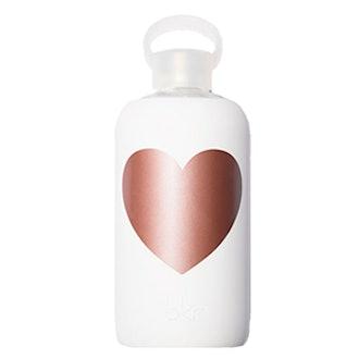 Metallic Rose Bottle