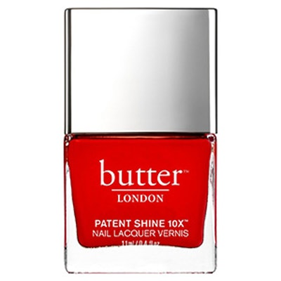 Patent Shine 10x Nail Lacquer in Her Majestys Red