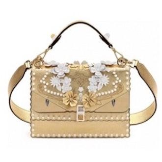Kan Floral Monster Top Handle Shoulder Bag