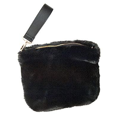 Faux Fur Clutch Bag