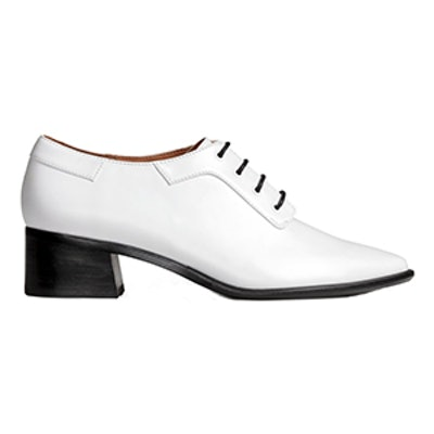 Heeled Derby Shoes