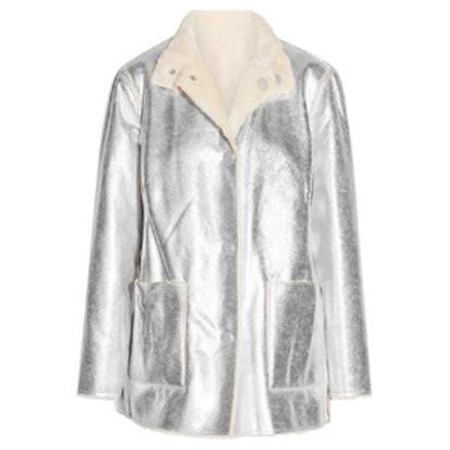 Culver Reversible Faux Shearling Coat