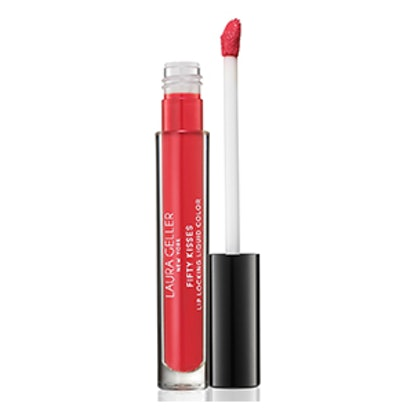 Fifty Kisses Lip Locking Liquid Color in Ruby Romance