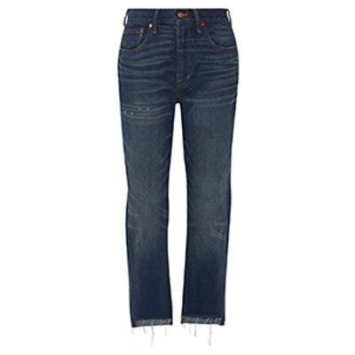 Perfect Vintage High-Rise Straight-Leg Jeans