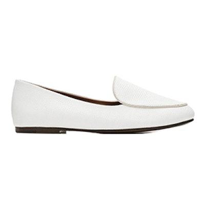 Ivory Embossed Loafer