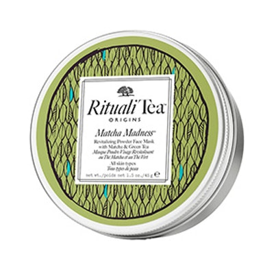 RitualiTea Matcha Madness Revitalizing Powder Face Mask with Matcha & Green Tea