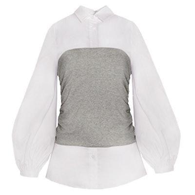 Sweatshirt Bustier Shirt