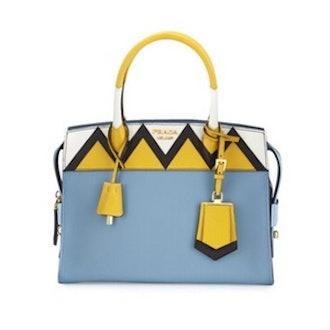 Esplanade Medium Greca City Satchel Bag