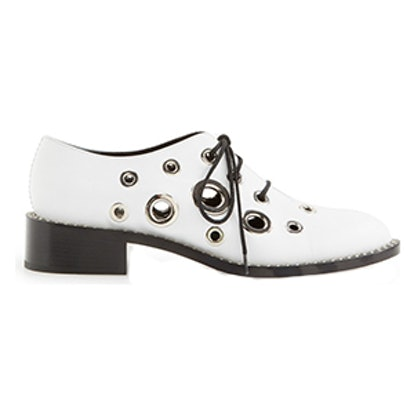Eyelet Lace-Up Derby
