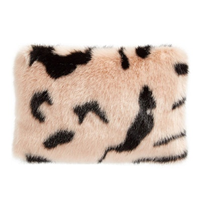 Hubbard Faux Fur Zip Clutch