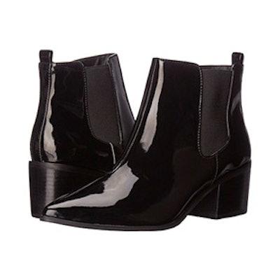 Black Patent Ranch Boot