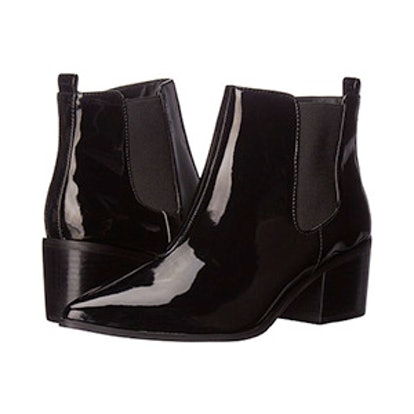 Black Patent Ranch Boot