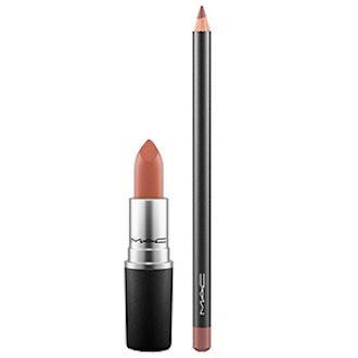 Taupe Lip Pencil & Lipstick Duo