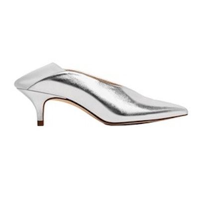 V-Cut Heeled Shoes