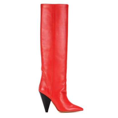 Laith Leather Knee-high Boots