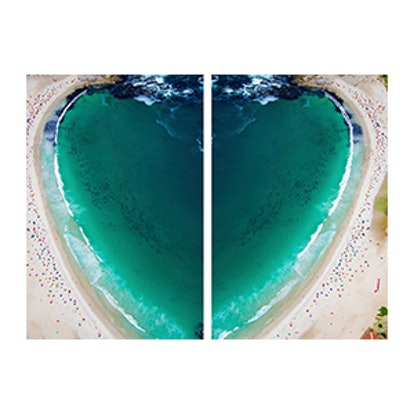 CAMPS BAY HEART DIPTYCH