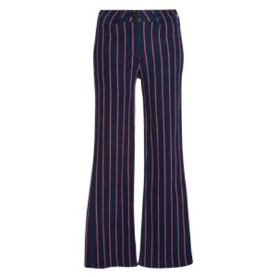 Tabby Striped Flared Jeans