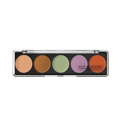 5 Camouflage Cream Palette Color Correct & Concealer